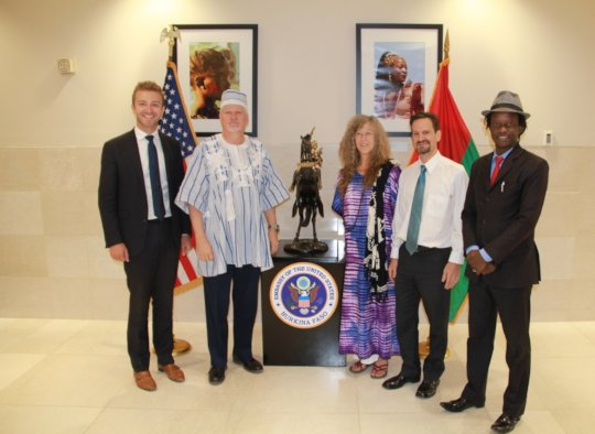 US Ambassador Meets with BARKA Co-Founders