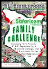 Kamili Family Challenge 2018 poster