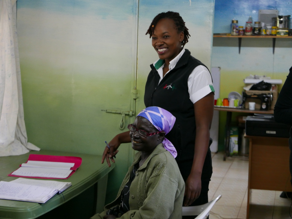 The Lower Kabete clinic is all about smiles