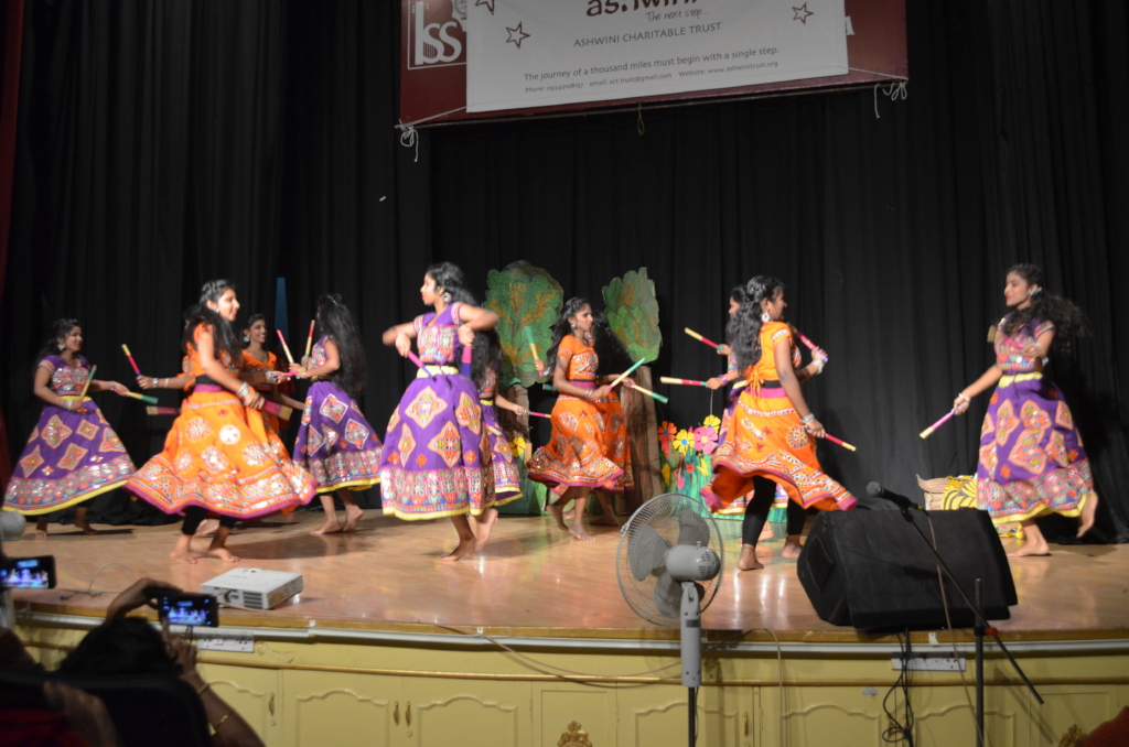Children dancing on Annual day