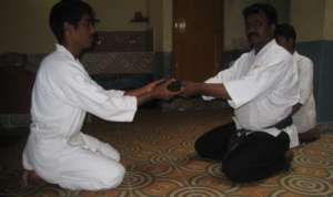 Ramkumar (name changed) gets his Karate Black Belt