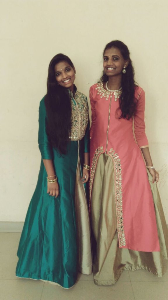 Nithya and Nisha