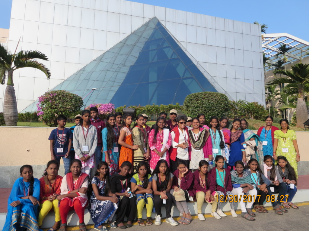 Mysore Infosys campus trip