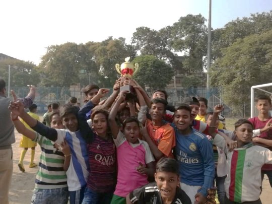 Annual Sports Event in Ward 26.