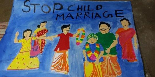 Our creative children: poster-making workshop!