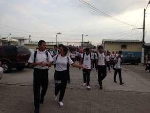Eloy Alfaro High School located at Duran