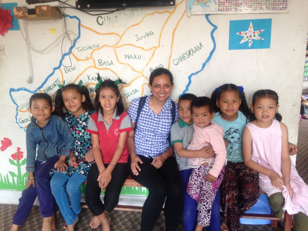 Lovely children at Himalayan Hope Home