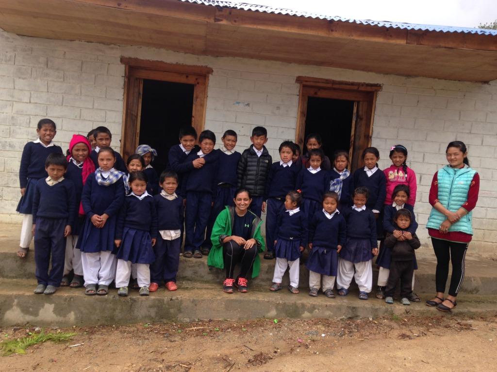 The children at Ramailio Jyothi School