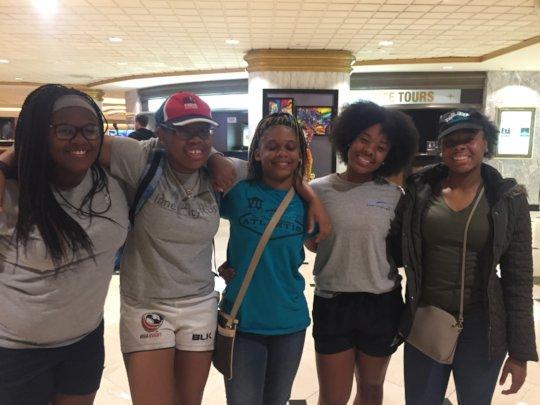 Memphis Girls winning the Vegas Invitational