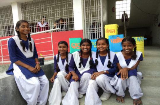 Shipra & her friends