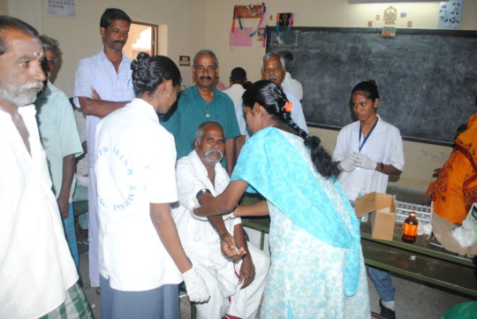 Diabetes Prevention and Control in 250 Villages