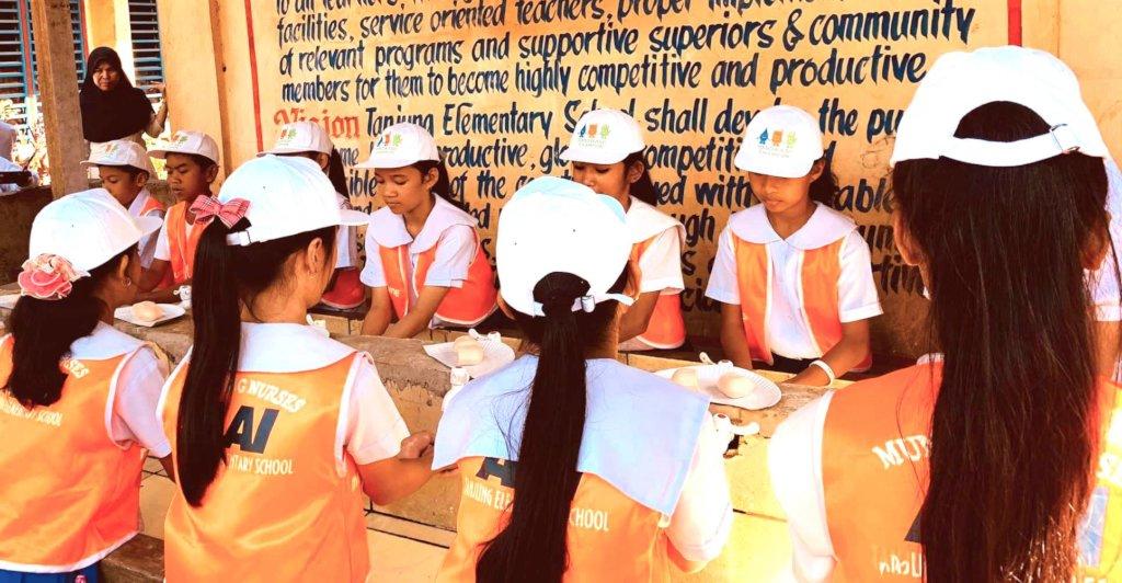 AAI Mini Nurses prepare for Global Handwashing Day
