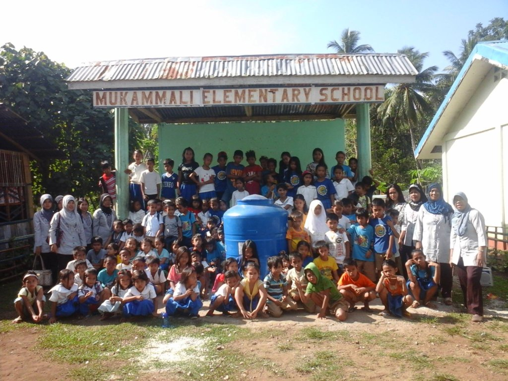 New water tank at Mukamalli Elementary