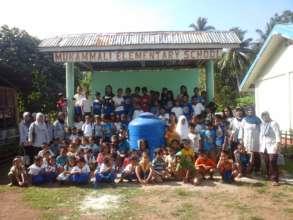 New water tank at Mukamalli Elementary