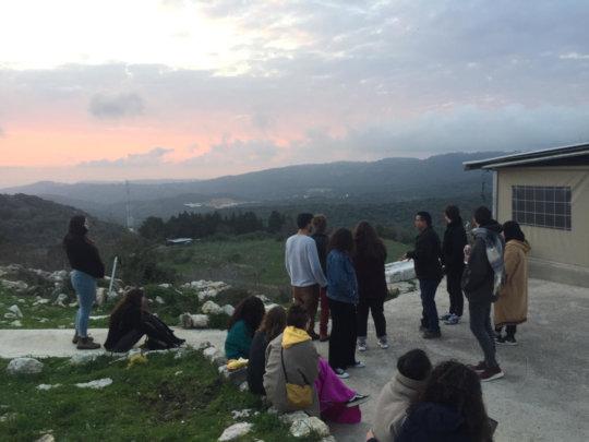 Jaffa-Beirut tour, Iqrit view point