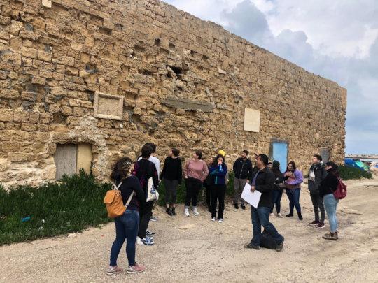 Jaffa-Beirut tour, Tantura village