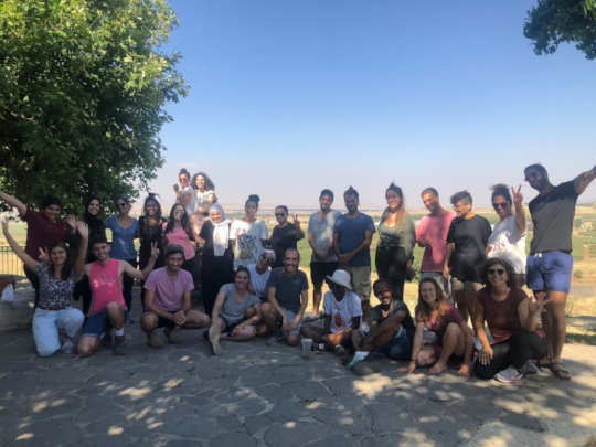 Political Tour of the Occupied Syrian Golan 1