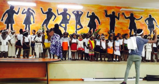 Our joyous Xhosa themed 2018 prize giving concert