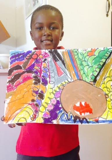 Teach Visual Arts to Kids in South Africa