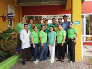 The Clinica Verde Team in Nicaragua