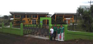 Clinica Verde team members in Nicaragua.
