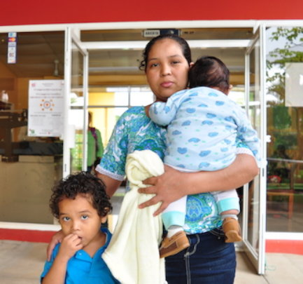 One of our Clinica Verde families