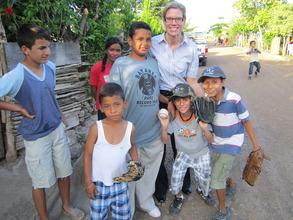 Kimberly Smith in Empalme de Boaco, Nicaragua