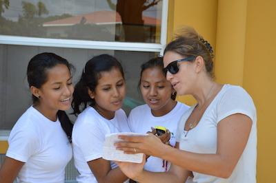 Jessie Wheeler + students from CV