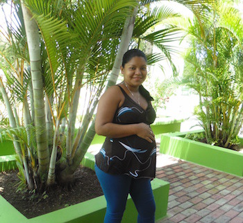 Maribel at Clinica Verde