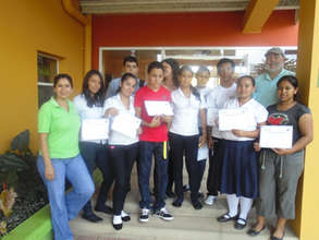 Local teens in Boaco who led our recent survey.