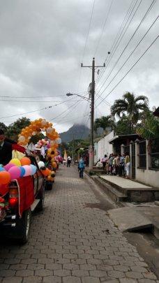 The Santa Lucia Parade