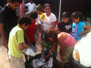 Children from Empalme de Boaco, Nicaragua.