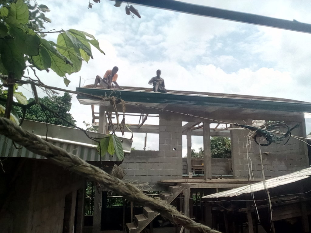 Building the school of the orphanage