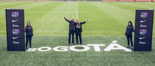 Launch of partnership with Nike and Postobon