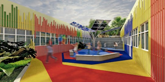 Play Area for Children With Cancer in Mexico City