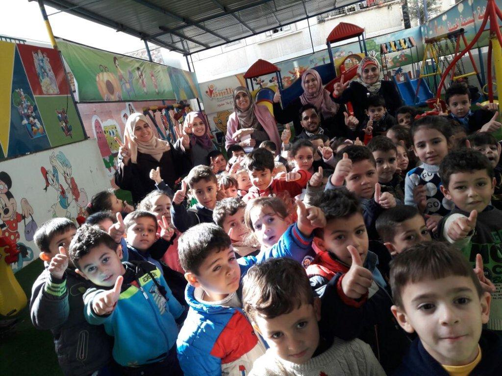 Help Gaza Kindergartens Heal