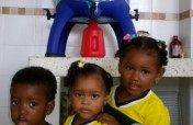 Water filters for children in Colombia