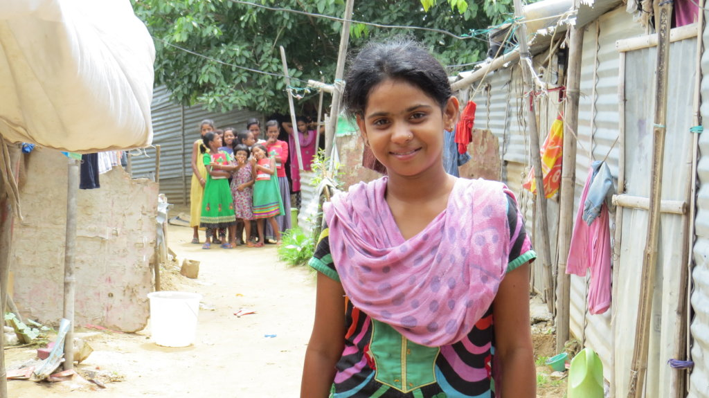 Empowering and Protecting Slum Girls