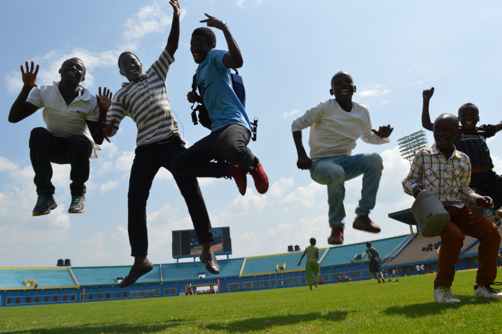 Educate and Empower Street Children in Kigali