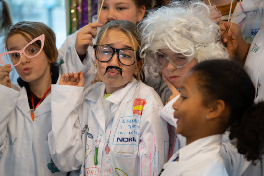 Silly g4g scientists caught in action in Brussels!
