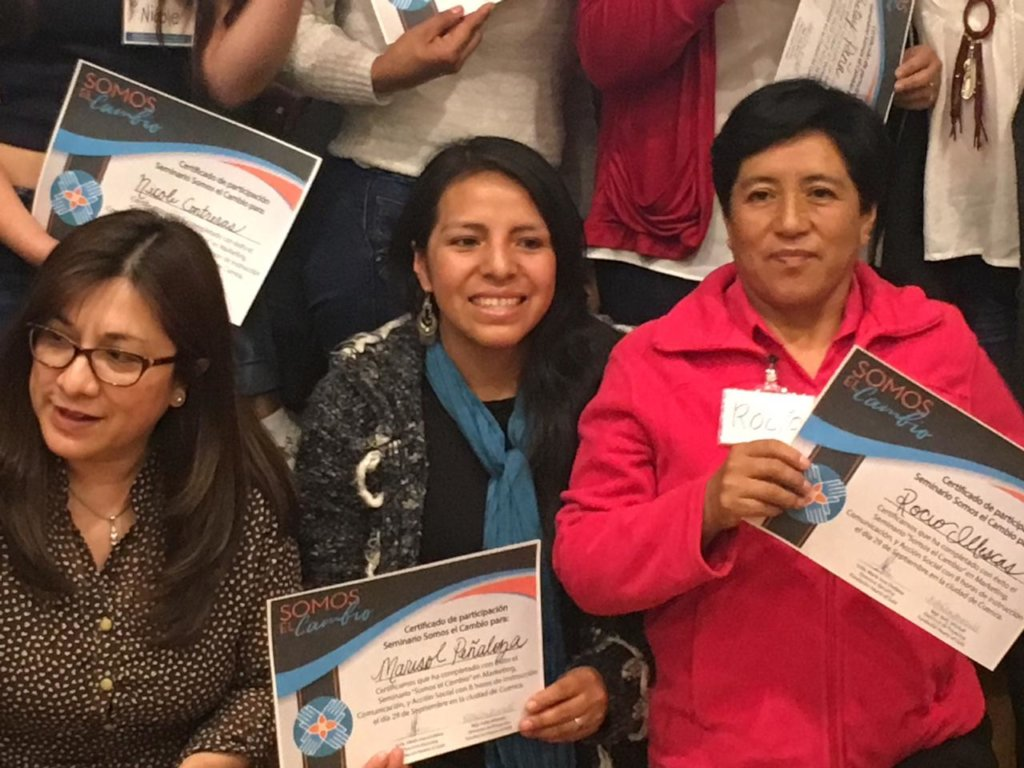 Women leaders are at the forefront in Ecuador