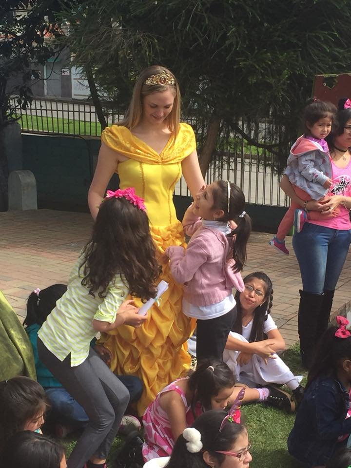Hearts of Gold staff visits on Children