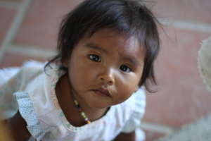 Beautiful Arhuaco baby girl