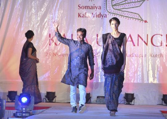 Khalidbhai Usman with his award winning collection