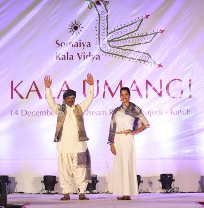 Ramesh walks the Kala Umang! fashion show ramp