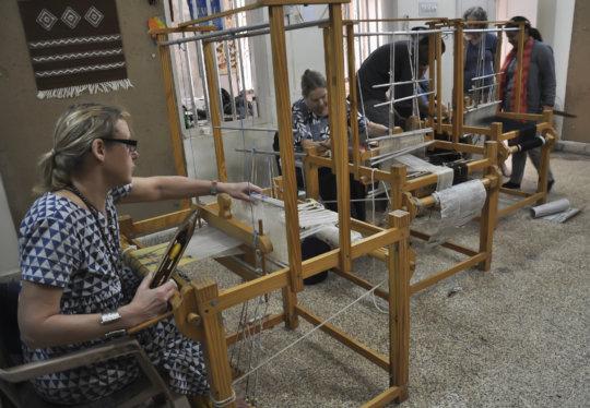 SKV Weaving workshop