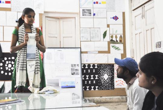 Krishna presents on Basic Design