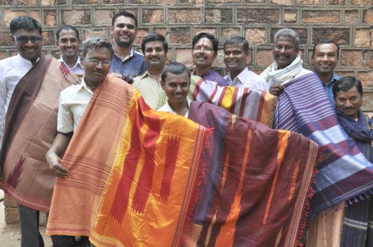 Kamatgi and Bhujodi weavers- ready for Chennai