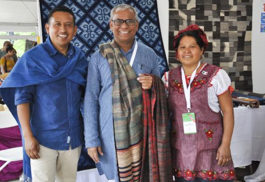 Graduate Dayabhai meets Oaxaca masters in the USA