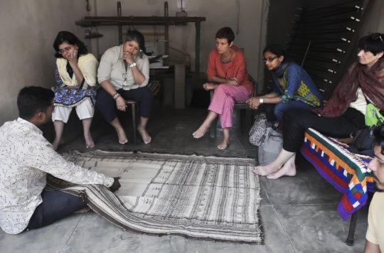 Presenting weaving traditions in Open Studio Tour